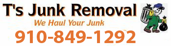 T's Junk removal Logo